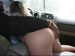 Порно в машине