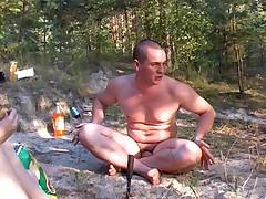 Schastlivye nudisty iz Rossii