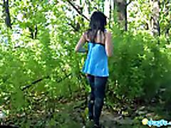 Tajnym zhelaniem Mily bylo - slit'sja s prirodoj