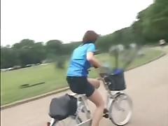 Оргазм на велосипеде